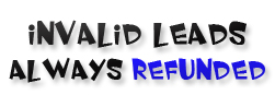 Invalid SEO Leads Always Refunded